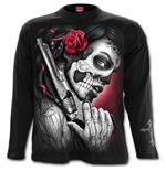 Death Pistol - Longsleeve T-Shirt Black
