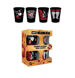 The Walking Dead 4 Shotglasses - Daryl Dixon