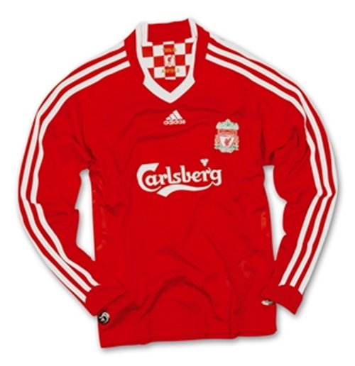 reputable site abaff 4cec5 08-09 Liverpool L/S home