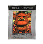 Five Nights At Freddys - Help Wanted Ad - Blanket