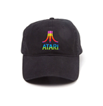 ATARI Logo Adjustable Cap, Black