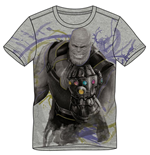 MARVEL COMICS Avengers: Infinity War Men's Thanos T-Shirt, Medium, Grey