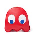 PAC-MAN Blinky Shaped Backpack, Red