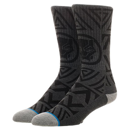 BLACK PANTHER Waterprint Crew Socks