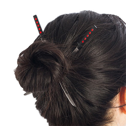 DEADPOOL Katana Hair Sticks