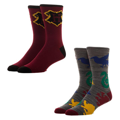 HARRY POTTER Men's Crew Socks 2 Pack