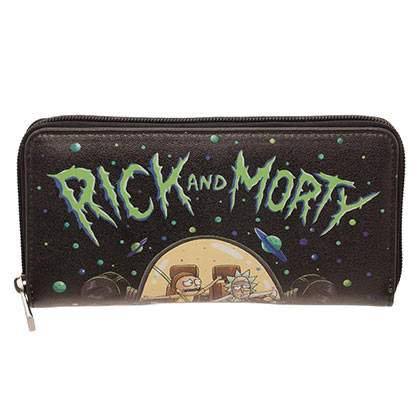 Rick And Morty Zip Around Wallet