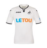 2017-2018 Swansea City Joma Home Football Shirt