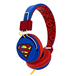 Superman Teen Headphones Vintage Logo