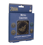 Legend of Zelda Breath of the Wild Coaster 4-Pack