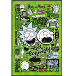 Rick And Morty - Quotes Maxi Poster (61X91,5 Cm)