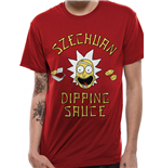 Rick And Morty - Szechuan Sauce - Unisex T-shirt Red