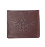 NINTENDO Legend of Zelda Faux Leather Debased Logo Card Wallet, Brown