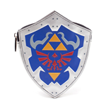 NINTENDO Legend of Zelda Breath of the Wild Women's Shield Shaped Coin Purse, Multi-colour