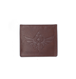 Zelda - Leather Card Wallet With Debased Logo