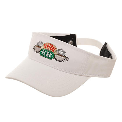 FRIENDS White Central Perk Visor