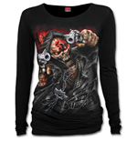 5fdp - Assassin - Licensed Band Baggy Top Black