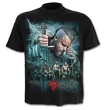 Vikings - Battle - Vikings T-Shirt Black Plus Size