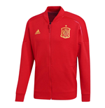 2018-2019 Spain Adidas ZNE Knitted Anthem Jacket (Red)