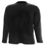 Urban Fashion - Longsleeve T-Shirt Black