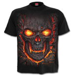 Skull Lava - Kids T-Shirt Black