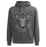 Horned Spirit - Hoody Charcoal