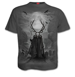 Horned Spirit - T-Shirt Charcoal