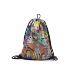Rick & Morty - Placed Characters Sublimation Print Gymbag