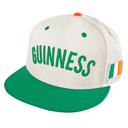 GUINNESS Irish Flag Snapback Hat