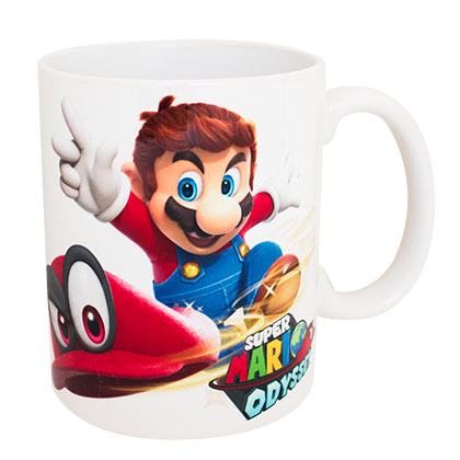 Super MARIO Bros. Odyssey Throwing Cappy Coffee Mug