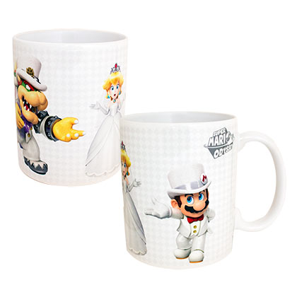Super MARIO Odyssey Who Will Peach Choose 11oz Coffee Mug