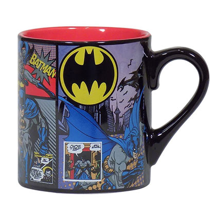 BATMAN Comic Panels 14oz Coffee Mug
