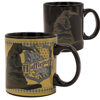 HARRY POTTER Sorting Hat Hufflepuff 20oz Heat Color Change Mug