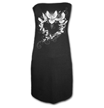 Doves Heart - Ribbon Back Dress Black