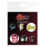 David Bowie - Mix Pin Badge Pack