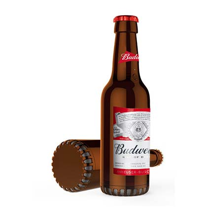 BUDWEISER Bluetooth Bottle Shaped Speaker