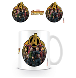 Avengers Infinity War Mug Icon Of Heroes