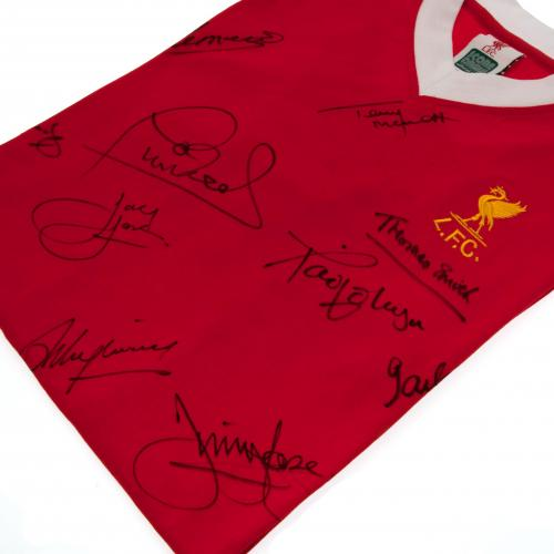 Liverpool F.C. 1977 European Cup Winners Signed Shirt