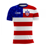 2018-2019 USA Home Concept Football Shirt