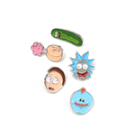 Rick and Morty Pin Set 5-Pack Characters