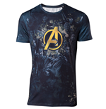 Avengers Infinity War - Team Sublimation Print Men's T-shirt