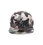 Zelda - Screen Print Camouflage 3D Embroidery Snapback Cap