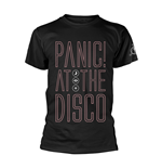 PANIC! At The Disco T-shirt Outline Name
