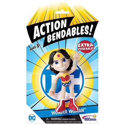 WONDER WOMAN Action Bendables Figure Toy