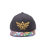 Zelda - Black Woods Boys Snapback Cap