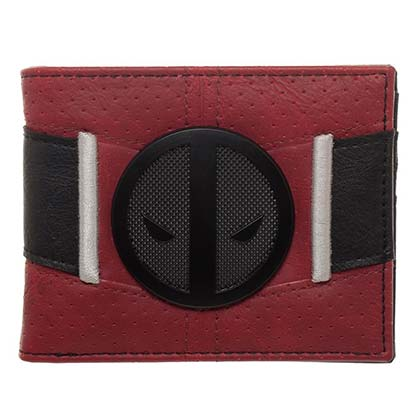 DEADPOOL Suit Up Red Mens Wallet