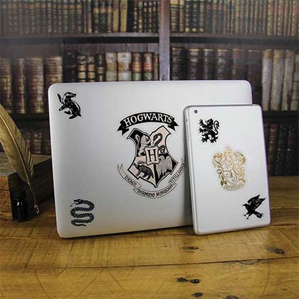 HARRY POTTER Hogwarts Laptop Sticker Decals
