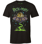 Rick and Morty T-Shirt Space Cruiser