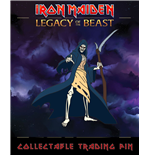 Iron Maiden Legacy of the Beast Pin Badge Reaper Eddie