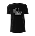 Thin Lizzy T-shirt Logo Gradient